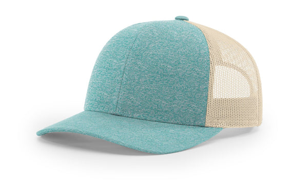 Richardson 115 - CH Low Pro Heather Trucker