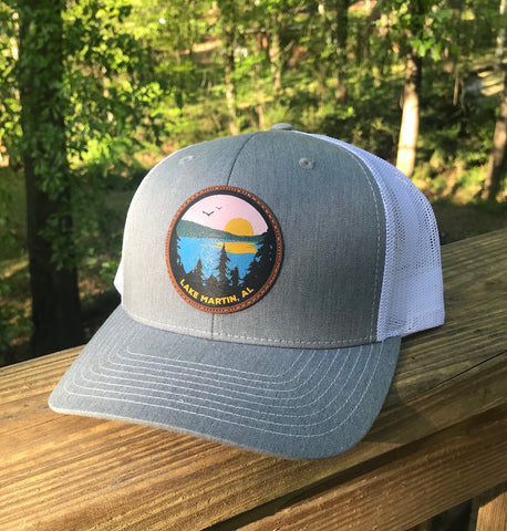 Lake Life - Lake Martin AL - Leather Patch Design