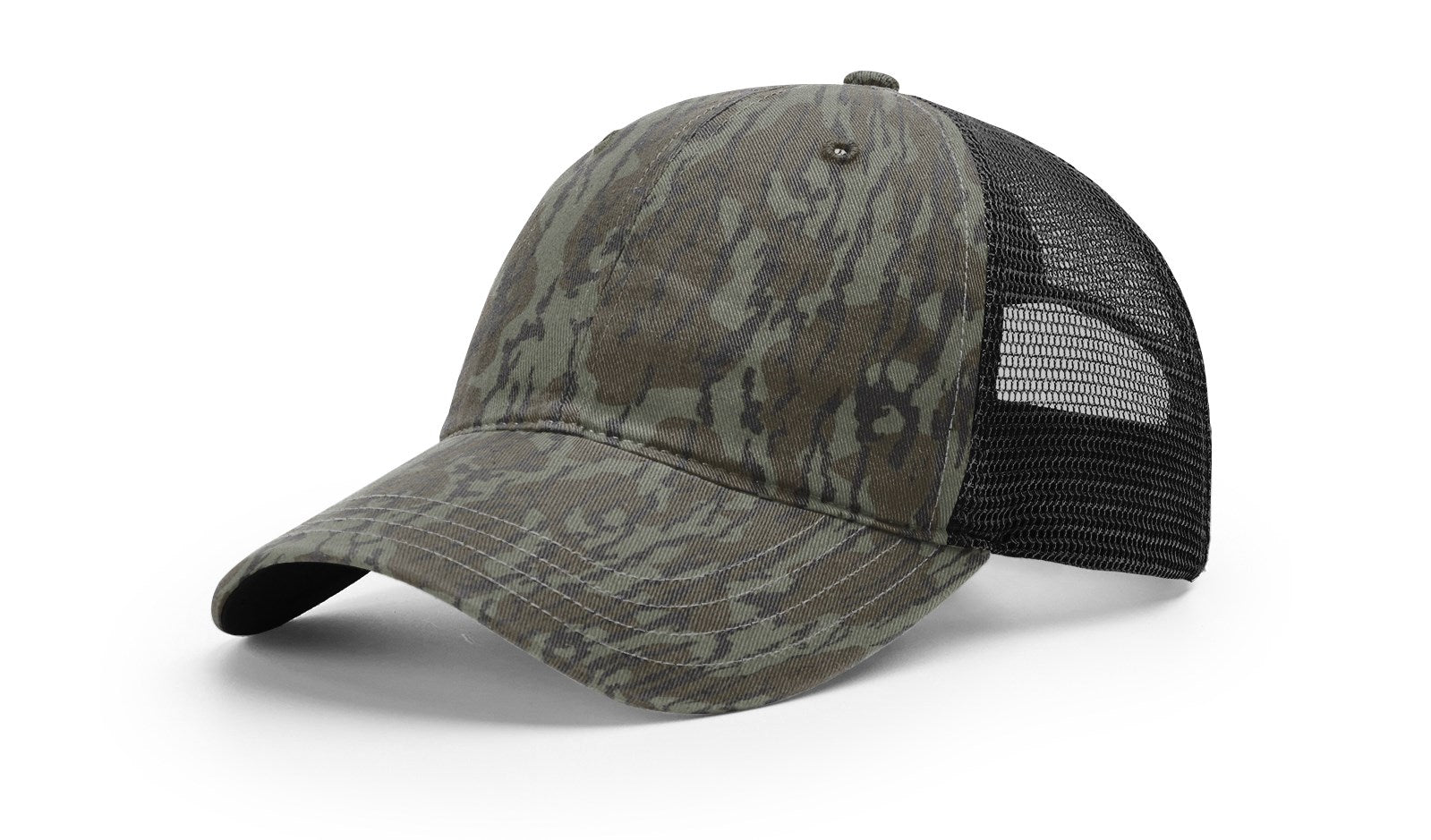 Richardson 111P - Garment Washed Printed Trucker