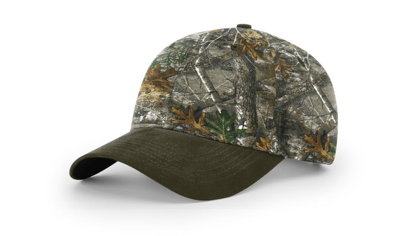 Richardson 846 - CAMO DUCK CLOTH VISOR
