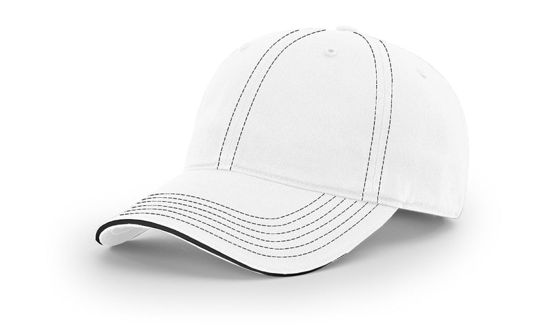 Richardson 325 - Washed Chino Sandwich Visor