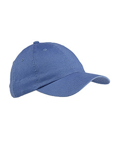 Big Accessories - 6 Panel Brushed Twill Unstructured Cap