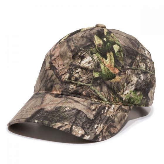 Outdoor Cap - Unstructured Canvas Camo