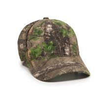 Outdoor Cap - Unstructured Fully Camo Mesh Back