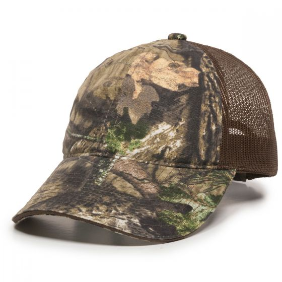 Outdoor Cap - Unstructured Meshback Camo