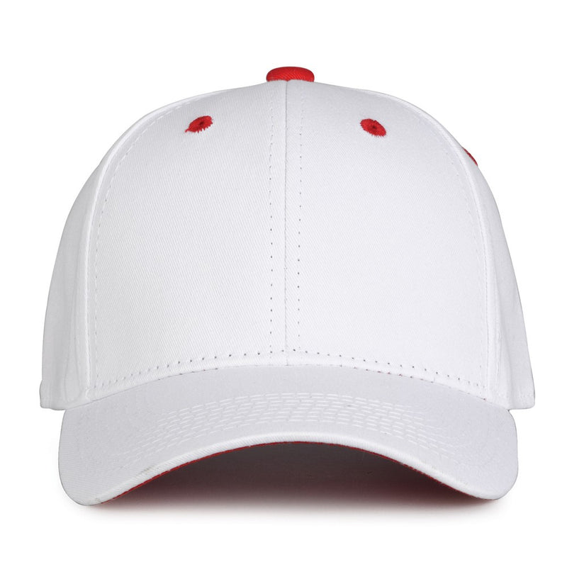 The Game - White Snapback Cotton Twill