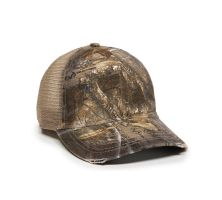 Outdoor Cap - Unstructured Camo Mesh Back Snap Back
