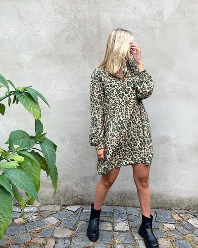 CECILIE COPENHAGEN Leo Dress LEO is always a good idea 🐆🌿