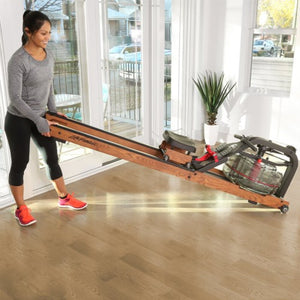 Life Fitness Row HX Trainer Wood Rowing Machine