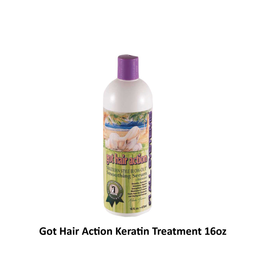 #1 All System - Got Hair Action Smoothing Serum + Moisturizer Keratin Treatment