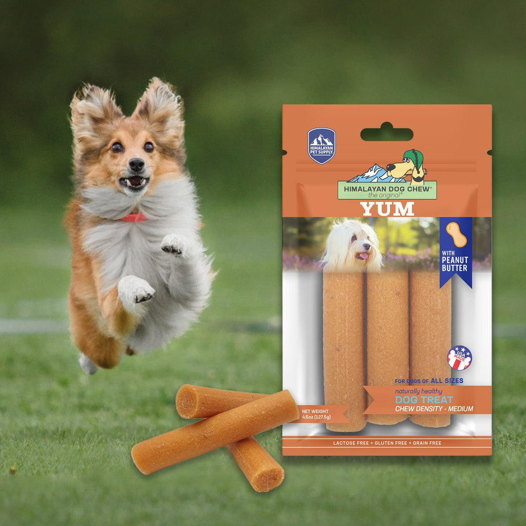Himalayan Dog Chew® The Original® YUM with Peanut Butter