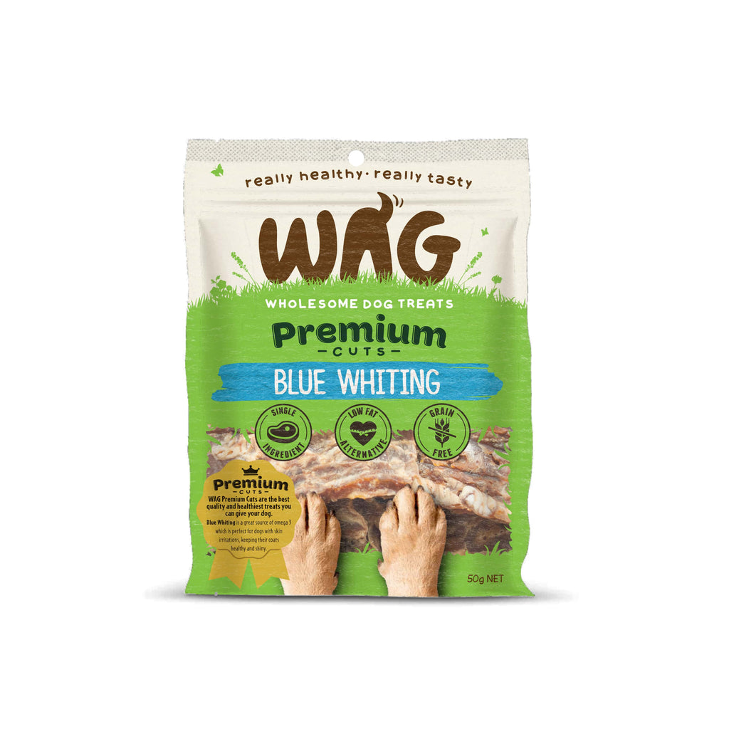 Wag - Premium Cuts - Blue Whiting (50g)