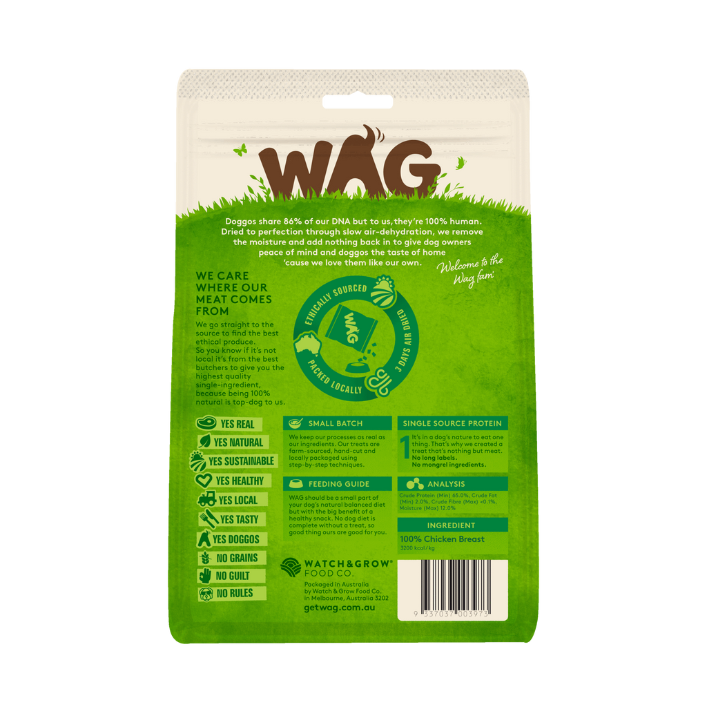 Wag - Staple - Chicken Breast (50g)