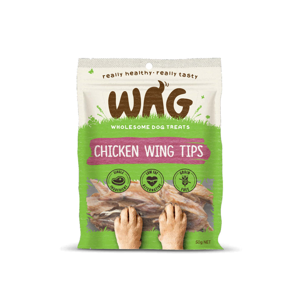 Wag - Staple - Chicken Wing Tips (50g)