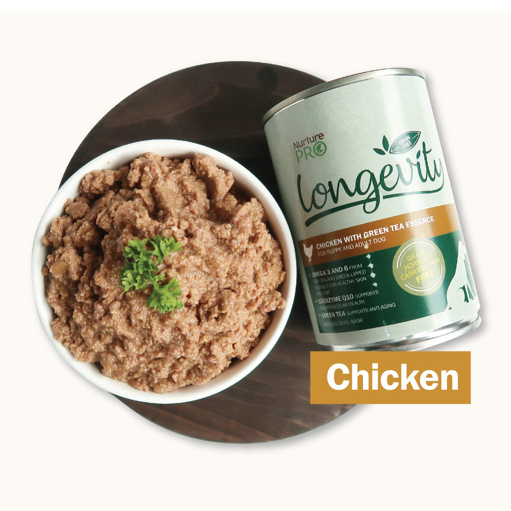 Nurture Pro - Longevity Grain Free Chicken with Green Tea Essence Dog Food