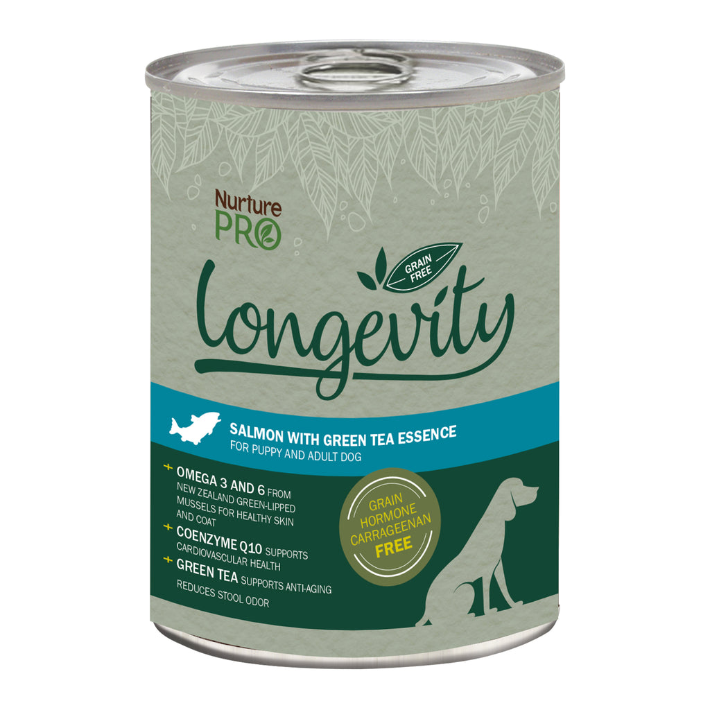 Nurture Pro - Longevity Grain Free Salmon with Green Tea Essence Dog Food