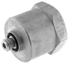 10-32 UNF to 1/8″ NPT Adapter
