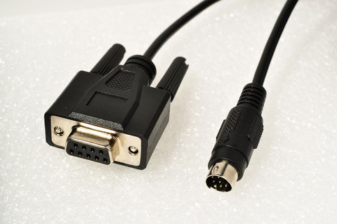 MD8DB9, 8-pin mini-DIN to Serial adapter cable