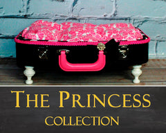 Pet Suitcase Bed - The Princess Collection