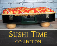 Pet Suitcase Bed - Sushi Time