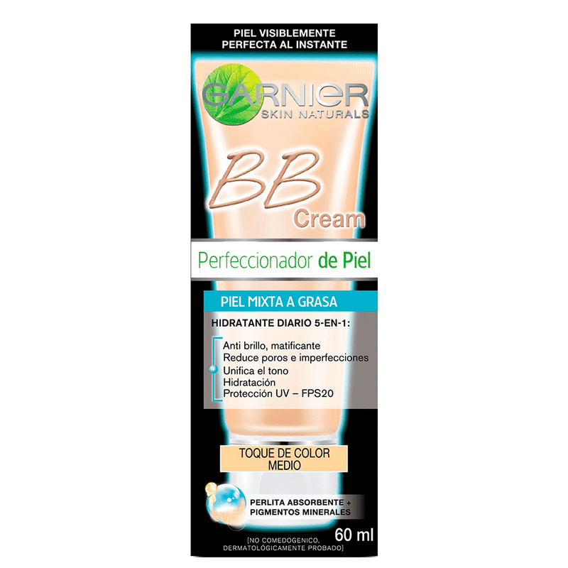 Bb Cream Piel Mixta A Grasa Tono Medio / Cosmetic