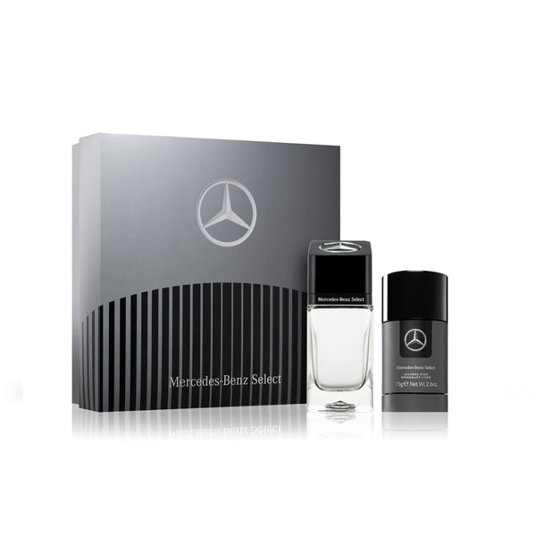 ESTUCHE MERCEDES-BENZ SELECT EDT 100 ML + DESODORANTE 75 ML