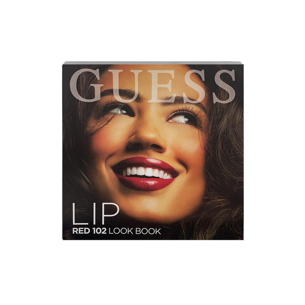 Set Guess Red 102 Look Book Lip Labios