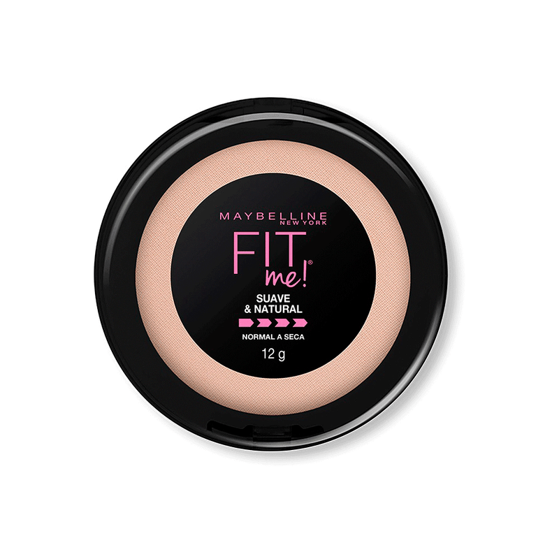Polvo Fit Me Soft Natural Maybelline / Cosmetic