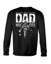 Load image into Gallery viewer, The Veteran The Myth The Legend Custom Design Gifts Sweatshirt