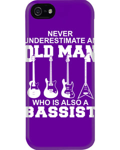 Never Underestimate An Guitar Player Who Is Also A Bassist Trending Phone case