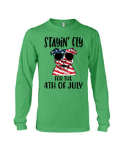 Load image into Gallery viewer, Staying Fly For The 4Th Of July Custom Design Unisex Long Sleeve