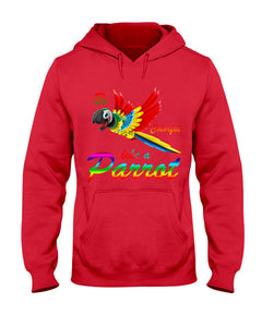 Lovely Tote Bag Be Colorful Like A Parrot Birthday Gift For Parrot Lovers Hoodie
