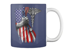Load image into Gallery viewer, Veterinary Symbol America Flag Special Custom Design Mug