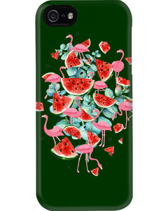 Flamingo Fruit Watermelon  Special Unique Custom Design Phone case