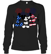 Load image into Gallery viewer, Mickey Mouse Design Gift For Mickey Lovers Unisex Long Sleeve