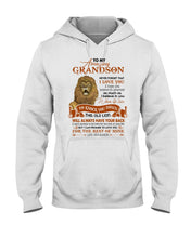 Load image into Gallery viewer, This Old Lion Will Always Have Your Back Lovely Message Gifts For Grandson Hoodie