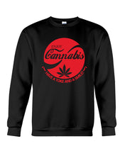 Load image into Gallery viewer, Enjoy Cannabis Have A Toke And A Smile Trending Sweatshirt