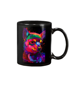 Chihuahua Watercolor Special   Custom Design For Dog Lovers Mug
