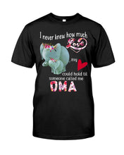 Load image into Gallery viewer, Elephants Someone Called Me Oma Funny Design Guys Tee