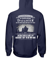 Load image into Gallery viewer, I Love My Freaking Awesome Daughter Hoodie