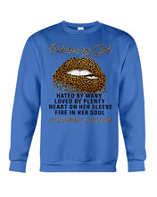 Load image into Gallery viewer, February Girl A Mouth She Can't Control  Custom Design Birthday Gifts Sweatshirt