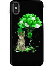 Load image into Gallery viewer, Love Balloons Happy St Patrick's Day For Cat Lovers Phone case