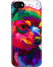 Load image into Gallery viewer, Chihuahua Watercolor Special   Custom Design For Dog Lovers Phone case