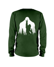 Load image into Gallery viewer, Bigfoot Rock And Roll - Backside Great Gift For Friends Who Loves Bigfoot Unisex Long Sleeve