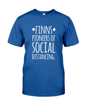 Load image into Gallery viewer, Finns Pioneers Of Social Distancing Custom Design Gift For Family Guys Tee
