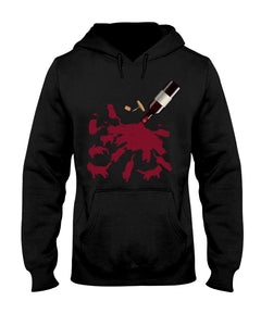 Cats And Wine Great Gift For Wine Lovers Who Loves Cat Hoodie