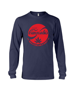 Enjoy Cannabis Have A Toke And A Smile Trending Unisex Long Sleeve