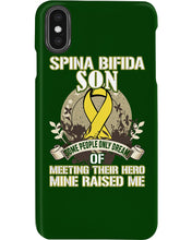Load image into Gallery viewer, Spina Bifida Son Custom Design Gifts Phone case