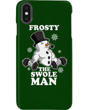 Load image into Gallery viewer, Frosty The Swole Man Gift For Weight Lifting Lovers Phone case