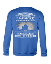 Load image into Gallery viewer, I Love My Freaking Awesome Daughter Sweatshirt